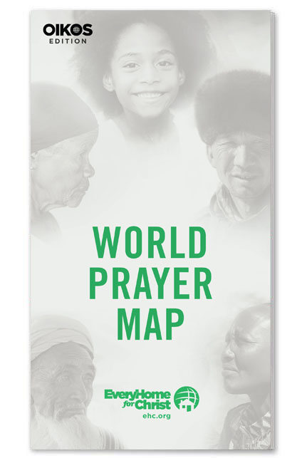 Free World Prayer Map