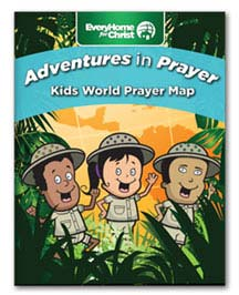 Free Kids Prayer Map