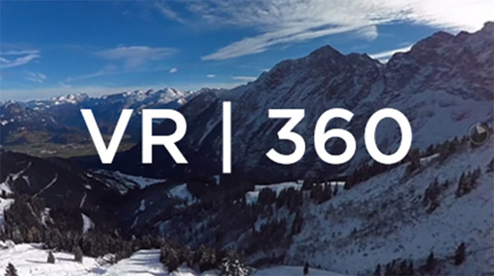 VR Image of Mountains
